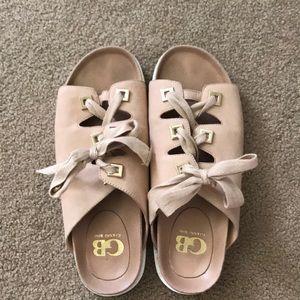 Ladies Gianni Bini Suede Sandals